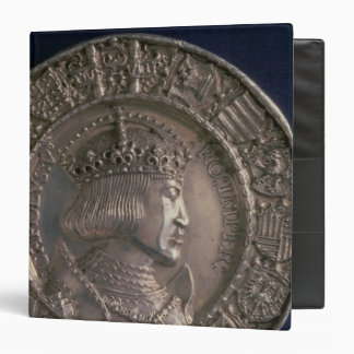 Coin bearing the portrait of Charles V 3 Ring Binder