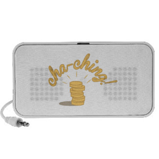 Coin Cha-ching! Notebook Speaker