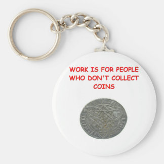 coin collecting keychains