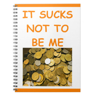 coin collecting spiral note book