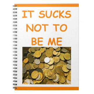 coin collecting notebook