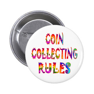 Coin Collecting Rules Pins
