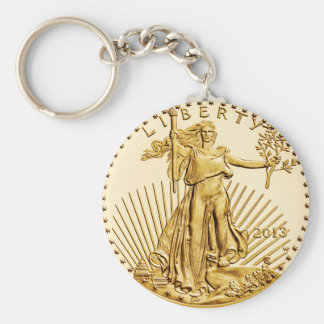 Coin Collecting U.S.A. Golden Eagle Key-chain. Keychain