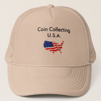 Coin Collecting U.S.A Hat