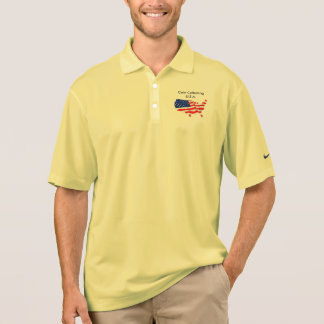Coin Collecting U.S.A. Nike Dress Shirt