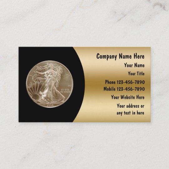 Coin collector business cards zazzle coin collector business cards colourmoves