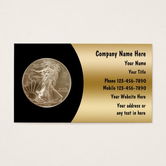 Coin collector business cards zazzle coin collector business cards colourmoves Images