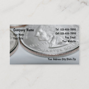Coin collectors business cards zazzle coin collector business cards colourmoves