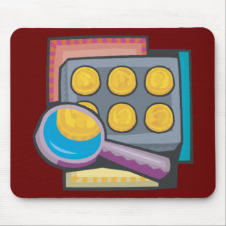 Coin Collector Mouse Pad