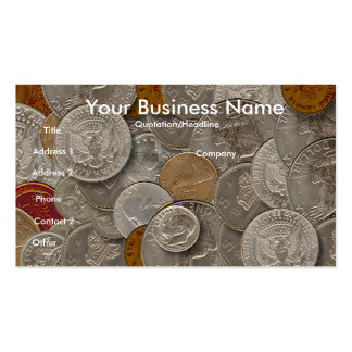 Coin collectors,business card