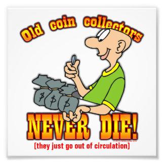 Coin Collectors Photo Print