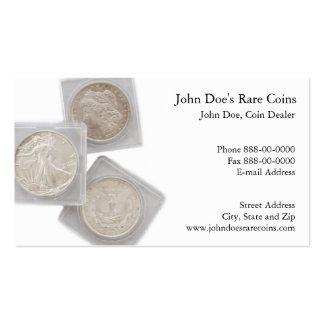 Coin Dealer Business Card