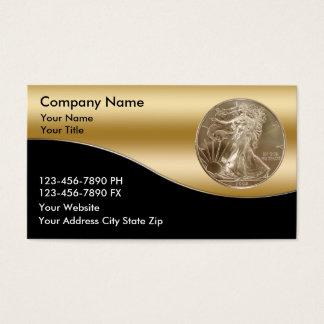 Coin Dealer Business Cards