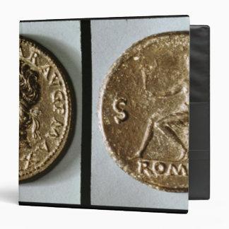 Coin depicting Nero Vinyl Binder