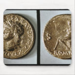 Coin depicting Nero Mouse Pad