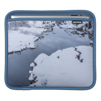 Coin Fissure in Iceland Sleeve For iPads
