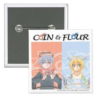 Coin & Flour Pin