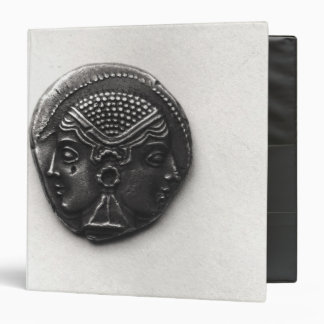 Coin from Lampsacus with a Janiform head Vinyl Binder