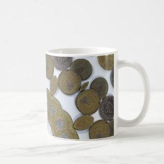 Coin Mandala Classic White Coffee Mug