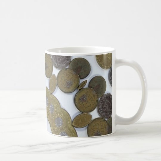 Coin Mandala Coffee Mug