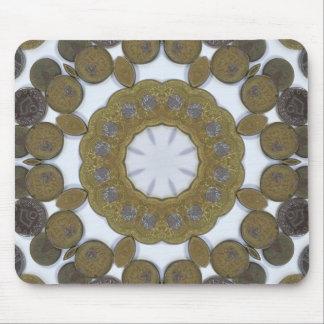 Coin Mandala Mouse Pad
