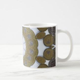 Coin Mandala Coffee Mugs