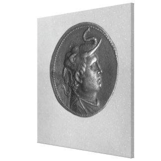 Coin minted by Ptolemy I Canvas Print
