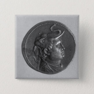 Coin minted by Ptolemy I Pinback Button