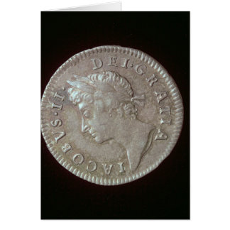 Coin of James II Greeting Card