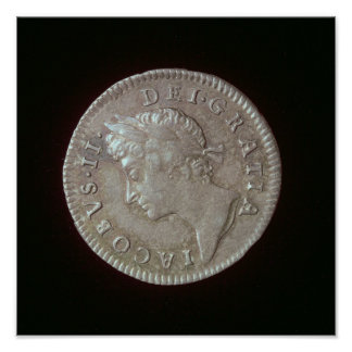 Coin of James II Poster