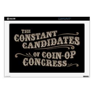 "Coin-Op Congress II Decals For 17"" Laptops"