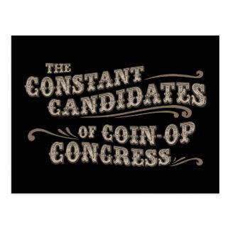 Coin-Op Congress II Postcard