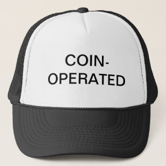 COIN-OPERATED TRUCKER HAT