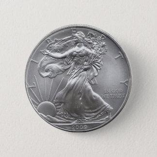 Coin Pinback Button