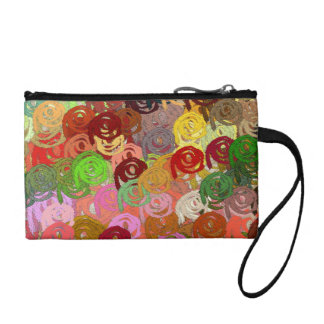 "Coin Purse, ""Colorful Swirls"""