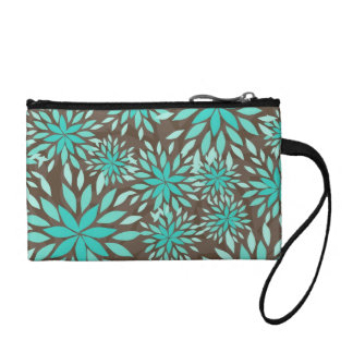 Coin Purse - different print on each side - floral