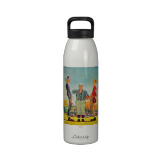 Coin Toss by Norman Rockwell Reusable Water Bottle
