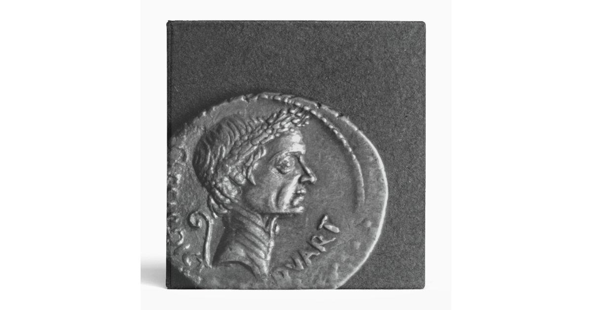Julius Caesar Black Lines Ring