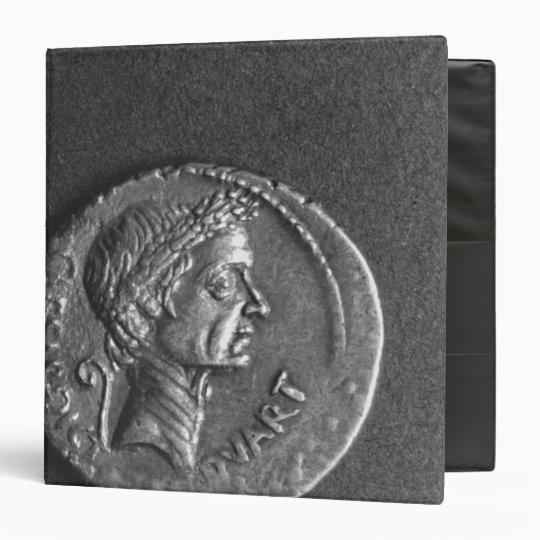 Coin with a portrait of Julius Caesar Binder