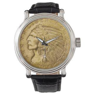 Coin Wrist Watch
