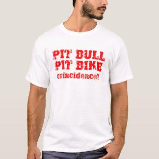 Coincidence Dirt Bike Motocross Pit Bike T-Shirt