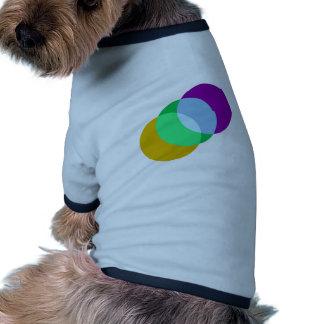 Coincidencia triple del punto camisas de mascota