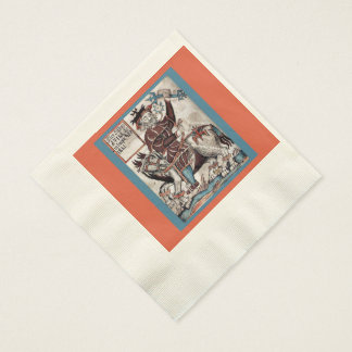 Coined Luncheon Napkins for Festival of Woden Blót