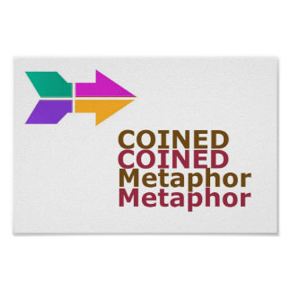 COINED METAPHOR WISDOM Lowprice RELATE 2 WORDS Poster