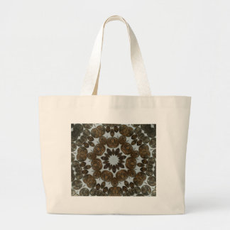 Coins 2015 large tote bag