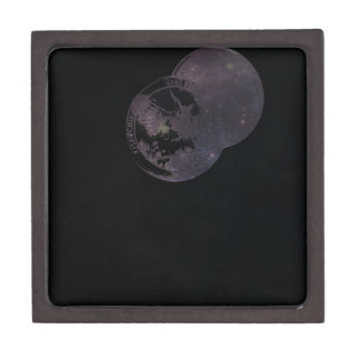 Coins and Constellations Jewelry Box