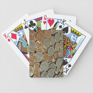 Coins Bicycle Playing Cards