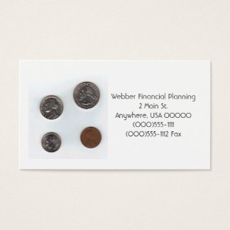 """""""Coins"""" Business Cards"""