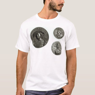Coins depicting Henry VIII and Anne Boleyn T-Shirt