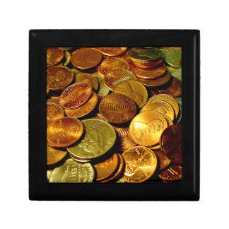Coins Keepsake Box